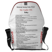 Baby Msds Funny Diaper Bag