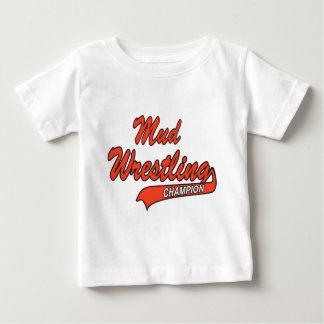 Baby Mud Wrestling Champion Tshirt