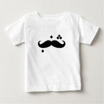 baby mustache baby T-Shirt