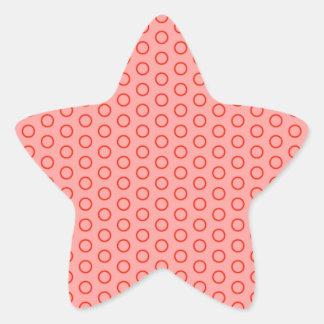 baby muster gira edulcora puntúa pünktchen dots pegatina en forma de estrella
