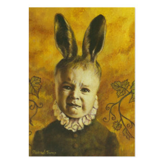 Baby Mutant Bunny ACEO Artist Trading Card Pack Of Chubby Business Cards