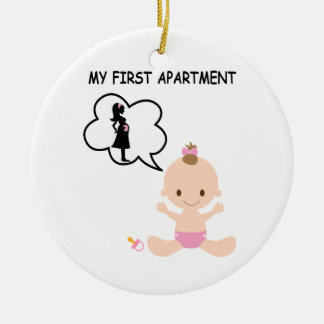 First apartment ornaments keepsake ornaments zazzle for First apartment ornament
