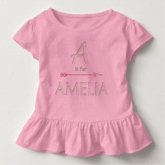 Baby name toddler t-shirt