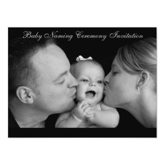 "Baby Naming Ceremony 6.5"" x 8.75"",envelopes Card"