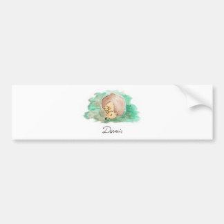 Baby Nap Bumper Sticker