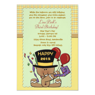 Baby New Year - Invitation