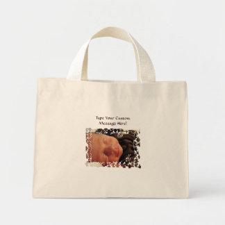Baby Nicholas Canvas Tote bags