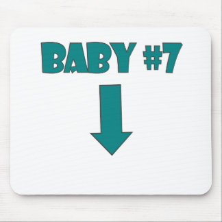 BABY NUMBER SEVEN.png Mouse Pad
