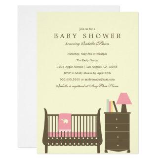 Baby Nursery - Girl | Baby Shower Invite