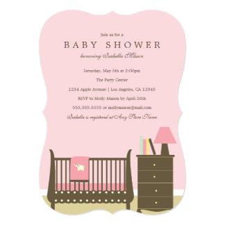 Baby Nursery - Pink | Baby Shower Invite