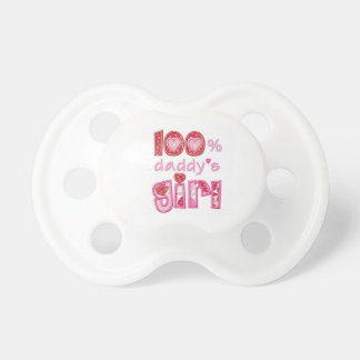 Baby of pacifier Daddy's Girl BooginHead Pacifier