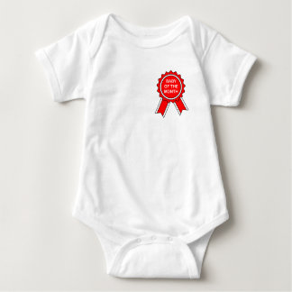 baby of the month baby bodysuit