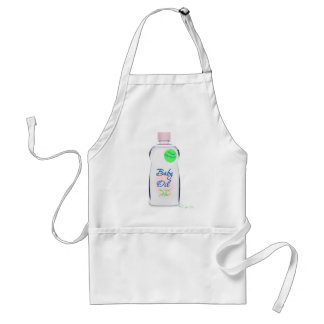 Baby Oil Adult Apron