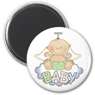 Baby On A Cloud Magnet
