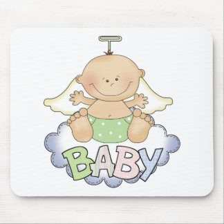 Baby On A Cloud Mousepad