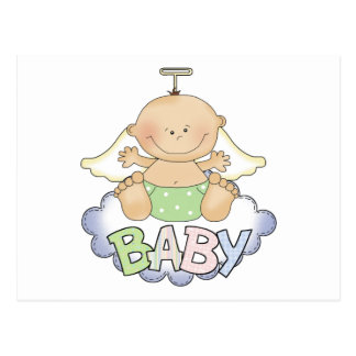 Baby On A Cloud Postcards