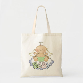 Baby On A Cloud Tote Bag