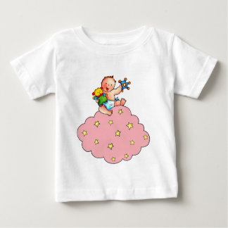 Baby on a winks Cloud with rigid T Shirts