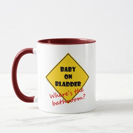 Baby on Bladder Mug