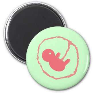 Baby on Board 2 Inch Round Magnet