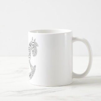 Baby on Rocking Horse Coffee Mug