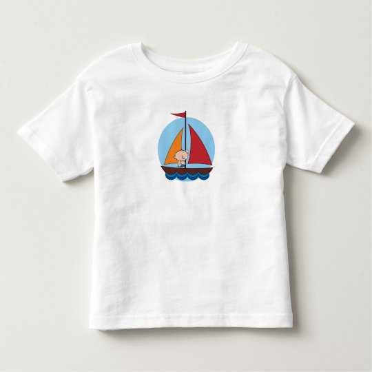 Baby on Sailboat Graphic Tee