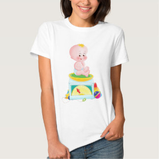 Baby on scale t-shirt