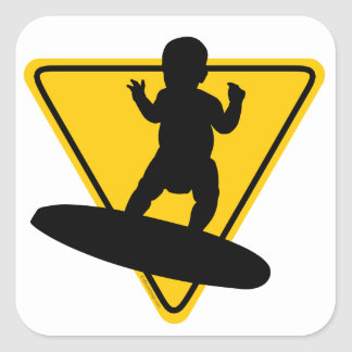 Baby on (Surf) Board Stickers