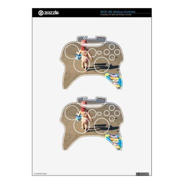 Beach Themed Baby on the beach xbox 360 controller skin