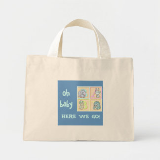 baby on the go! tote - Customized Canvas Bags
