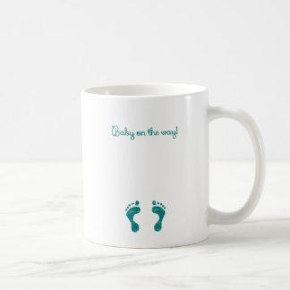 BABY ON THE WAY BLUE.png Coffee Mug