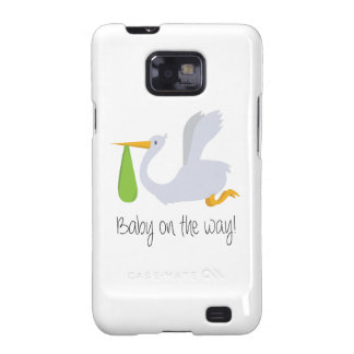 Baby On The Way Samsung Galaxy SII Cases