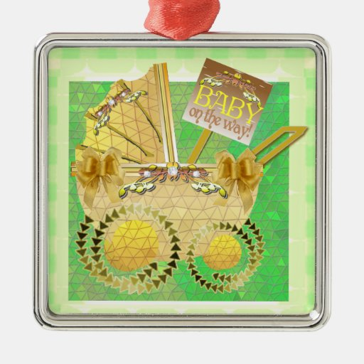 Baby on the way ornament zazzle - Ornament tapete weiay ...