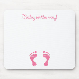 BABY ON THE WAY.png Mouse Pad
