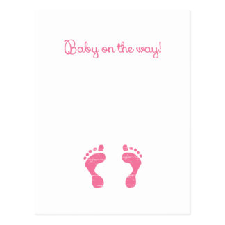 BABY ON THE WAY png Post Cards