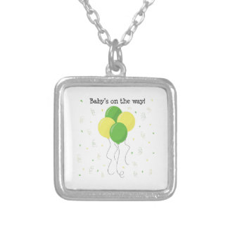 Baby On Way Personalized Necklace