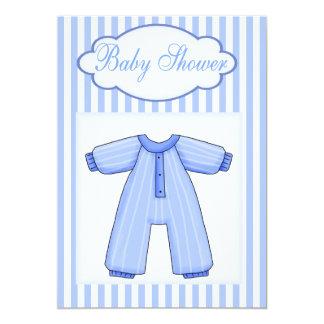 Baby Onsie  Boy Shower  Invitation