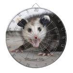 Baby Opossum Dartboard Dart Board