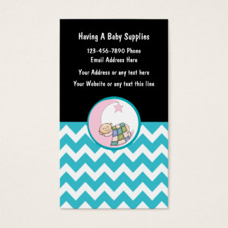 Baby or Second Hand Store Business Card