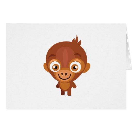 Baby Orangutan - My Conservation Park Cards