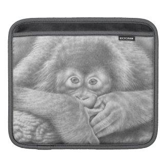 Baby Orangutan Rickshaw Sleeve iPad Sleeve