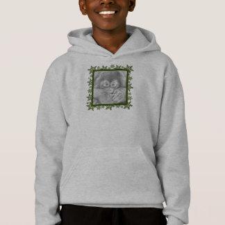 Baby Orangutan Snowflake Kids Sweatshirt