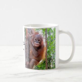Baby Orangutan Uttuh Coffee Mug