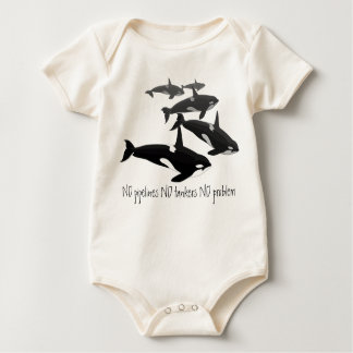 Baby Orca Creeper Personalized Orca Whale Shirt