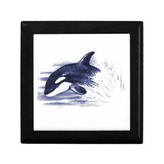 Baby Orca Jump Keepsake Box
