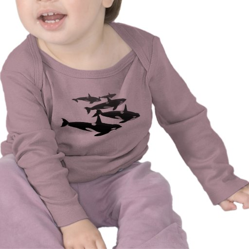 Baby Orca T-Shirt Personalized Orca Whale Shirt