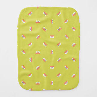 Baby Oscar Face Shape Pattern Baby Burp Cloth