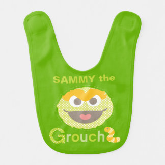 Baby Oscar Grouchy | Add Your Name Baby Bib
