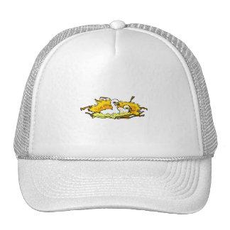 baby osprey chicks garphic mesh hat