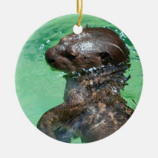 Baby Otter  Ornament